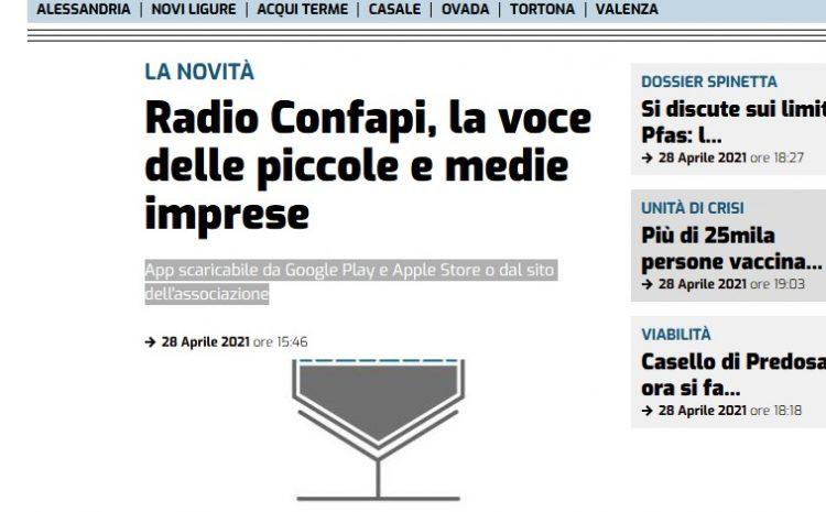 Il Piccolo parla di Radio Confapi